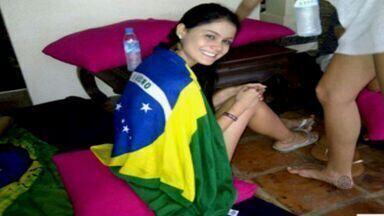 Enterrado na manhã de hoje o corpo da modelo Camila Bezerra - Ela estava trabalhando na China e foi encontrada morta no dia 1º de janeiro.