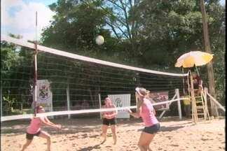 Cruz Alta recebe Campeonato de Vôlei de Praia - Jogos são realizados no Clube Arranca