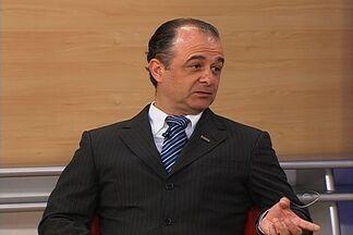 Presidente do Transcares fala sobre a situação das estradas do Espírito Santo - Sindicato das Empresas de Transportes de Cargas e Logísticas diz que condições causam prejuízo ao estado.