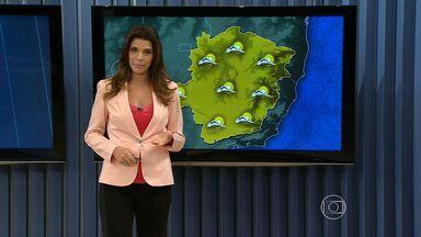 Falta de chuva faz umidade do ar cair em boa parte de Minas Gerais - Índices ficam abaixo de 40% na tarde desta quarta-feira (20).