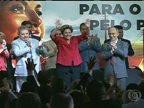PT comemora 10 anos na presidência da República - Em Brasília, o senador Aécio Neves fez um discurso crítico ao partido no Plenário. O evento do partido dos trabalhadores ocorre em São Paulo. Uma cartilha foi distribuída aos convidados com conquistas dos últimos dez anos no Brasil.