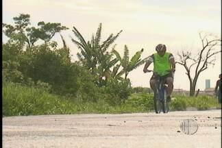 Homem que foi ao Maranhão de bicicleta retorna para Suzano - O homem que foi ao Maranhão de bicicleta retornou para Suzano. A viagem durou 20 dias
