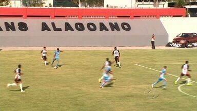 Veja os melhores momentos de Corinthians-AL x CSA - Jogo terminou empatado.
