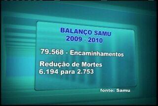 Samu apresenta relatório de atividades dos últimos três anos na região - Samu apresenta relatório de atividades dos últimos três anos na região