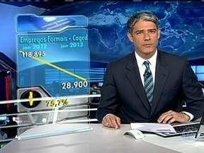 Criação de empregos com carteira assinada em janeiro cai 75% - O Brasil cirou 28,9 mil empregos com carteira assinada em janeiro. Foi o pior resultado para o mês em quatro anos e representa uma queda de 75% em relação ao mesmo período de 2012.