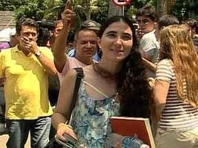 Yoani Sánchez visita pontos turísitcos da cidade - O deputado Otávio Leite do PSDB passou a manhã de domingo (24) com a Cubana. A jornalista é conhecida por fazer críticas ao governo Cubano.