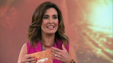 Fátima levou alunas de balé para evento do jornal O Globo - Apresentadora foi convidada para cobrir um evento na semana seguinte