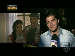 Bruno Gissoni garante que namoro com Yanna Lavigne é para valer - 'Não é amor de carnaval', garante o ator, durante evento de Flor do Caribe
