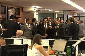 Comitiva árabe visita a Organização Jaime Câmara (OJC) - Antes de conhecer a OJC, empresários, embaixadores e representantes de todas as embaixadas árabes do Brasil se reuniram com o governador Marconi Perillo e secretários de Estado.