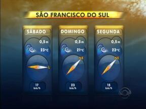 Confira a previsão de ondas para as praias catarinenses - 01/03/2013 - Confira a previsão de ondas para as praias catarinenses - 01/03/2013