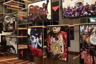 Festa Cultural é tema de exposição fotográfica em Aracaju (SE) - 17 anos de história e herança cultural pela festa do Lambe Sujo e Caboclinho de Laranjeiras (SE).Fotógrafo Márcio Garcez expõe seu trabalho no Museu da Gente Sergipana.