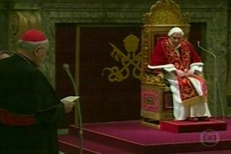 Nome do Papa deixa de ser mencionado nas igrejas católicas em João Pessoa - O Papa Bento XVI deixou oficialmente o comando da Igreja Católica nesta quinta-feira.