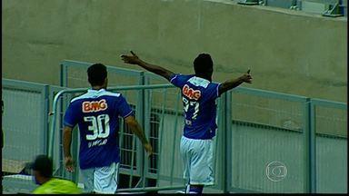 Cruzeiro derrota Tombense em jogo no Mineirão, em Belo Horizonte - Partida foi pelo Campeonato Mineiro.