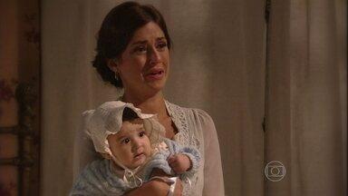 Sandra revela a Teodoro que Ângelo é seu fiho - Ele fica atônito