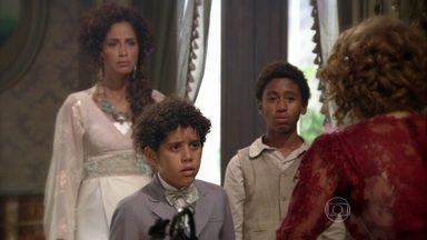 Elias se decepciona com Constância - Ele diz que não quer mais que ela seja sua avó