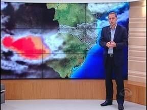 Confira a previsão do tempo com Leandro Puchalski - 08/03/2013 - Confira a previsão do tempo com Leandro Puchalski - 08/03/2013