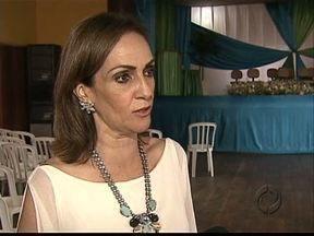 Nova diretoria assume a Associação dos Municípios dos Campos Gerais - A prefeita de Tibagi, Angela Mercer é a primeira mulher a assumir a presidência da AMCG.
