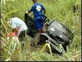 Dois homens são encontrados mortos às margens da BR-116 - O que indica é que eles teriam se envolvido em um acidente de trânsito