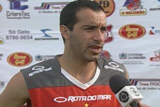 Samir aguarda documentação para assinar com o Auto Esporte-PB - Meia, ex-Campinense, deve ser o novo reforço do Alvirrubro no Campeonato Paraibano. Ele já treina com o grupo comandando pelo técnico Jairo Santos.