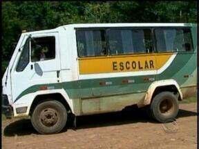 Pais reclamam da péssima situação do transporte escolar em Anita Garibaldi - Ministério Público irá analisar a situação do transporte na cidade.