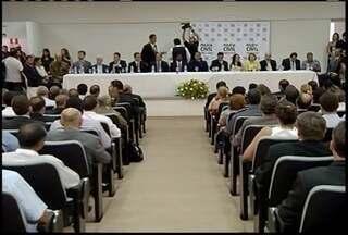 Chefe da Polícia Civil de Minas Gerais fala sobre as posses do delegados em Montes Claros - Chefe da Polícia Civil de Minas Gerais fala sobre as posses do delegados em Montes Claros.