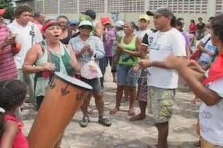 Integrantes do MST protestaram em Sousa, Alto Sertão da Paraíba - Eles protestaram por causa da falta de água na região.