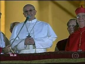 O argentino Jorge Mario Bergoglio é eleito o Papa número 266 da História - Francisco será o nome adotado pelo cardeal, o primeiro Papa jesuíta e latino-americano