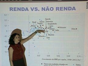 Brasil se manteve estável no ranking mundial de IDH - Depois de avançar nos últimos anos, o Brasil se manteve estável no relatório das Nações Unidas que compara o Índice de Desenvolvimento Humano entre os países do mundo.