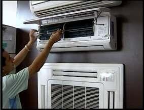 Superaquecimento de ar condicionado pode ter causado incêndio em Valadares - Técnicos alertam para os cuidados com aparelhos que ficam muito tempo ligados.