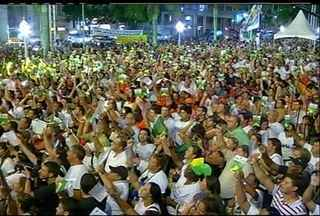 Moradores de Campos, RJ, fazem protesto contra a nova Lei dos Royalties - Após polêmica, presidente Dilma Rouseff assinou a lei nesta sexta-feira (15)