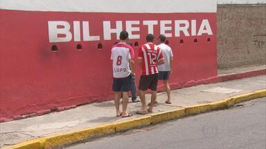 Domingo é dia de clássico entre Sport e Náutico, no Recife - Leão recebe o Timbu, às 16h, na Ilha do Retiro. É grande a expectativa dos torcedores dos dois times.