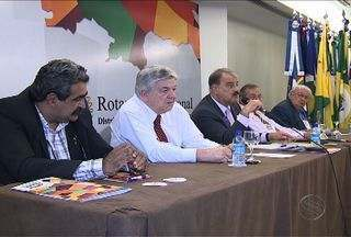 Governadores do Rotary interncaional se reúnem em Aracaju - Principal meta é aproximar o rotary dos jovens