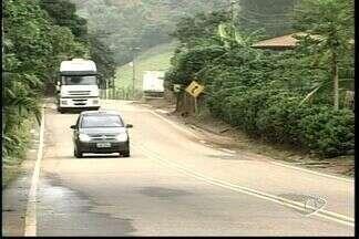 DER-ES promete realizar obras na ES-080 em Santa Teresa, ES - Obras devem ficar prontas em junho de 2013