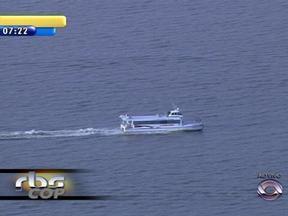 Linha do catamarã até a Ilha da Pintada deve estar disponível em até 30 dias - Liberação da Marinha é aguardada para que a travessia possa ser realizada.