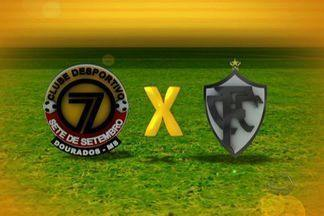 Confira os gols de Sete de Dourados 4 x 1 Corumbaense - Confira os gols de Sete de Dourados 4 x 1 Corumbaense, pela 13ª rodada do Campeonato Sul-Mato-Grossense