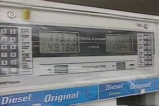 Valor do diesel varia significativamente de preço em Campina Grande - Veja o que revelou pesquisa do Procon.