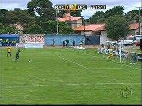 Londrina vence o Nacional e segue na liderança do Paranaense - Depois de cinco jogos, Celsinho voltou a marcar e é um dos artilheiros do campeonato.