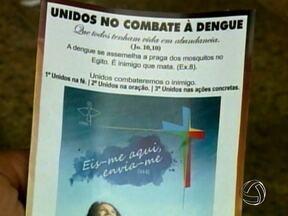 Moradores de Sinop participam de uma iniciativa para combater a dengue - Oração e velas de citronela fazem parte do projeto. Além disso, há uma expectativa de que o município participe de um experimento para produção da vacina contra a doença.