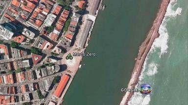Recife terá ciclofaixa móvel ligando as zonas Norte e Sul aos domingos - Corredor exclusivo para bicicletas será aberto a partir do próximo dia 24. Projeto-piloto prevê o fechamento do Bairro do Recife para pedestres