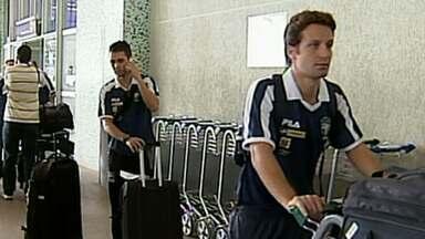 Seleção Brasileira de Futsal chega a Uberlândia para disputa de torneio - Equipe vai ter um craque da cidade entre os jogadores.