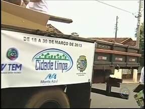 Chuva adia programação do Cidade Limpa em Araçatuba, SP - Por causa da forte chuva que atingiu o noroeste paulista, o projeto Cidade Limpa teve parte da programação adiada em Araçatuba. Confira como serão os próximos dias do mutirão.