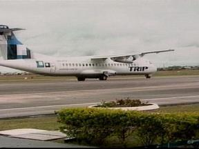 Quase 60 passageiros utilizaram o primeiro vôo em direção a Pelotas, RS - No dia de inauguração as passagens tiveram valor promocional.