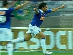 Com Mineirão em clima de Copa do Mundo, Cruzeiro bate Caldense pelo Campeonato Mineiro - Dagoberto e Ricardo Goulart anotaram os gols da virada cruzeirense.