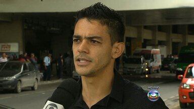Possível reforço do Galo, Josué já está em BH - Volante, que estava no futebol alemão, chega para fazer exames e assinar com o Atlético-MG até o final de 2014.