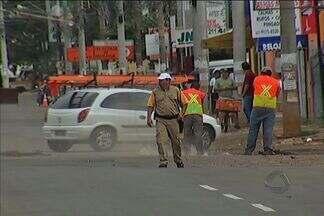Prefeitura retoma obra na avenida Júlio de Castilhos - As obras da avenida Julio de Castilhos foram retomadas hoje. Para os motoristas, é preciso ter cuidado, pois há várias ruas interditadas para os trabalhos.