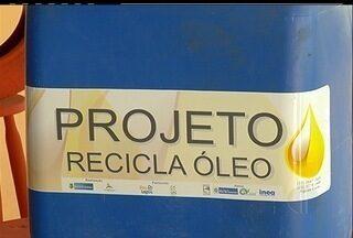 Projeto de reutilização do óleo de cozinha é lançado em São Pedro da Aldeia - Todo o material vai ser transformado em biodiesel.