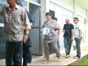 Casal é preso por fraude na divisão de precatórios do Tribunal da Justiça - Carla de Paiva Ubarana Araújo Leal encabeçava um esquema que desviou mais de R$ 14 milhões e foi condenada a 10 anos de cadeia. O marido dela George Leal ficará preso por seis anos.