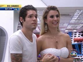 Gaúcho Nasser fica em segundo lugar no BBB - Amigos do gaúcho ficaram na torcida em Porto Alegre.