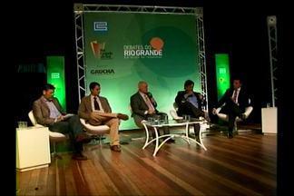Debates do Rio Grande no auditório do Museu Dom Diogo de Souza - Lasier Martins convida representantes de entidades da região para debater sobre a região da campanha.