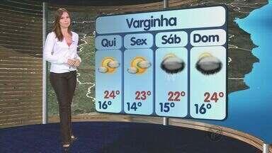 Confira a previsão do tempo no Sul de Minas - Confira a previsão do tempo no Sul de Minas para essa quarta-feira (27)